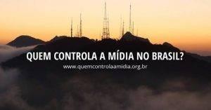 Quem controla a mídia no Brasil? Levantamento dos 50 maiores veículos será lançado no dia 31/10