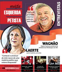Saiu a revista Esquerda Petista n° 8
