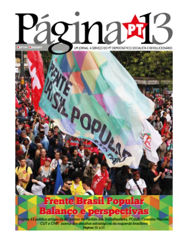 Assinatura anual do Jornal Página 13