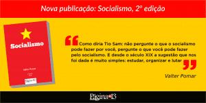 Lançamento da editora Página 13: Socialismo