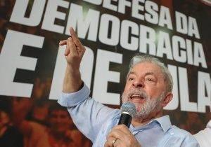 """""""Eu aceito"""", diz Lula sobre aclamação para pré-candidatura"""