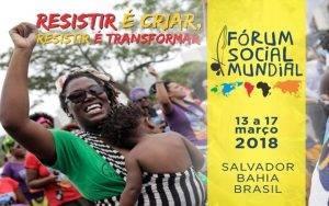 Começa o Fórum Social Mundial em Salvador