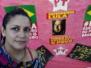 No Pará, com Telma Saraiva