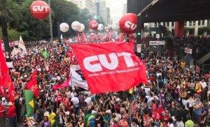 "CUT: ""Lula livre, Lula inocente, Lula Presidente!"""