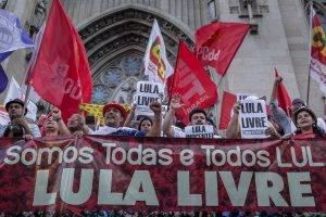 1º de maio em defesa dos direitos, da democracia e de Lula Livre!