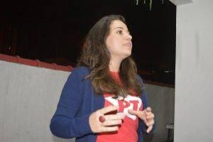 Fala Ana Lídia, pré candidata a Deputada Estadual pelo PT-SP