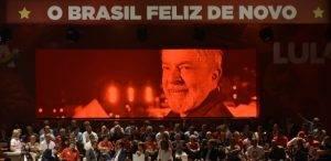 Lula presidente: o povo feliz de novo!