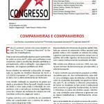 7º Congresso Nacional do PT – Boletim virtual 1