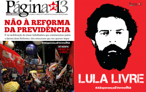 Página 13 n° 195, Abril de 2019 com especial Lula Livre