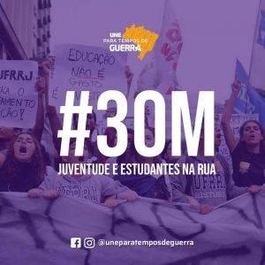 30M – JUVENTUDE E ESTUDANTES NA RUA
