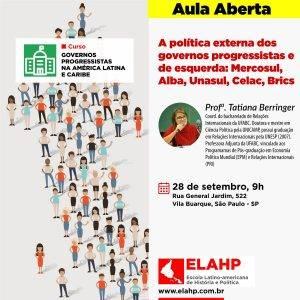 Dia 28 – Aulas sobre socialismo no leste europeu e política externa na América do Sul
