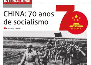 CHINA: 70 anos de socialismo