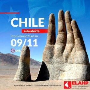 ELAHP – Aula aberta sobre o Chile