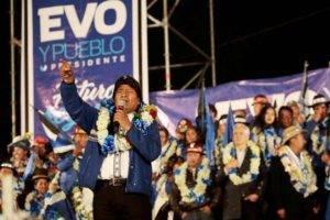 A reeleição de Evo e as contestações da vitória