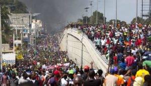 Algumas linhas sobre a crise social no Haiti