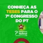 PT divulga o Caderno de Teses do 7º Congresso Nacional