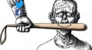 O Twitter, Facebook e a censura