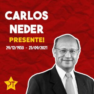 Read more about the article Carlos Neder, presente!