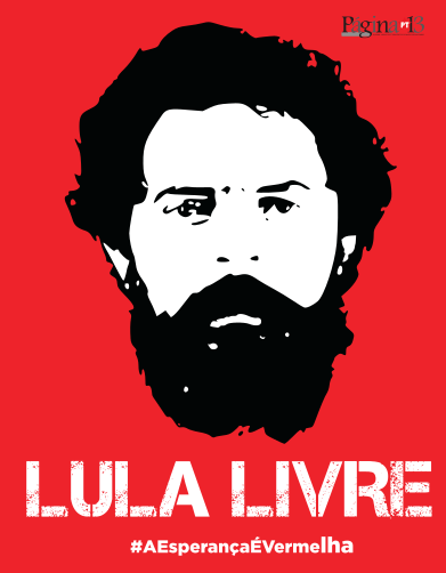 Página 13 n195, Abril 2019, encarte Lula Livre